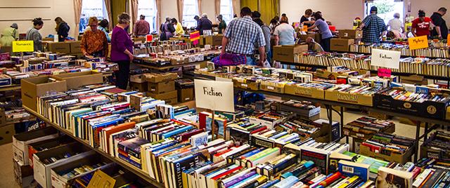 annual book sale